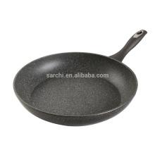 Aluminium round marble coating fry pan