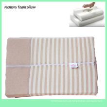 Travesseiro de espuma com memória de preço barato Travesseiros de viagem para presente saudável