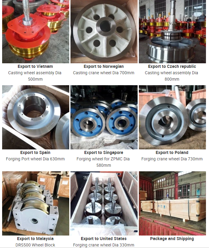 Steel Crane Rail Wheel