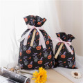 Bolsa de regalo de Halloween no tejida Little Pumpkin Black