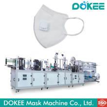 Máquina de fabricación de mascarillas plegables de alta velocidad