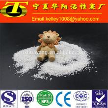 SiO2 99,97% weißer Quarzsand für Abrasives und Refraktär