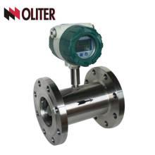 Débitmètre d'eau de turbine liquide d'huile de pic avec la sortie 4-20ma