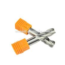 BFL CNC Fresadora Herramientas 3 flautas Aluminio corte carburo de tungsteno molino de extremo