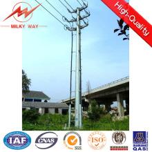 Conical HDG 16m postes para uso general de acero para la transmisión de potencia