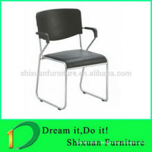 2014 best selling pop stacking armrest meeting antique chair 118
