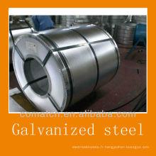 zéro paillette galvanisé acier pour l'industrie de la construction