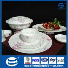 new bone china tableware dining service