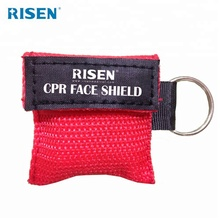 Wholesale professional CPR mask keychain face shield