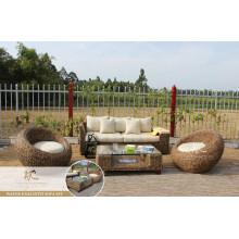 Antique Acacia Wooden Living Set
