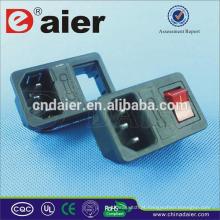 Interruptor e soquete / soquete de extensão de mesa / Power Strip