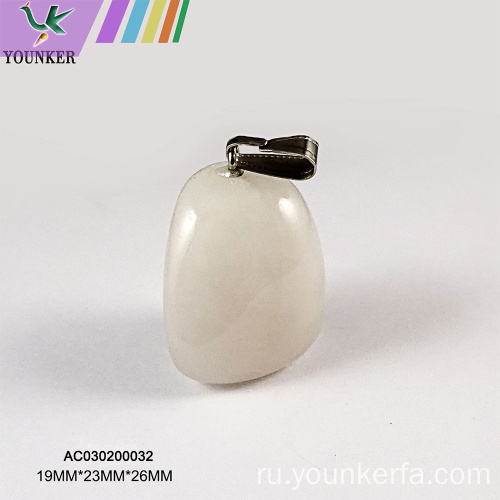 Подвеска Mix Shape Charm из натурального камня