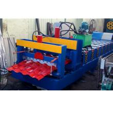 Rollo de azulejo de azotea esmaltado invernadero de las ventas calientes del CE ISO que forma la máquina