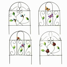 Handmade Spring Garden Decoration Metal Fence Craft-46CMH