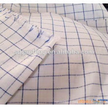 En gros poly coton fil teint chemise tissu 45 * 45 133 * 72 shirting tissu