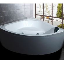 Metal Blooming Bathtub Pillow Shower Standing Faced Tub