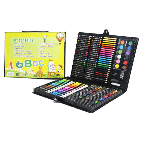 Back to school kids art set de papelaria
