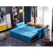 Sofá multifuncional de la tela del sofá de la sala de estar moderna