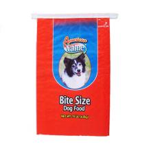 China factory price bopp laminated animal feed bag pp woven bag