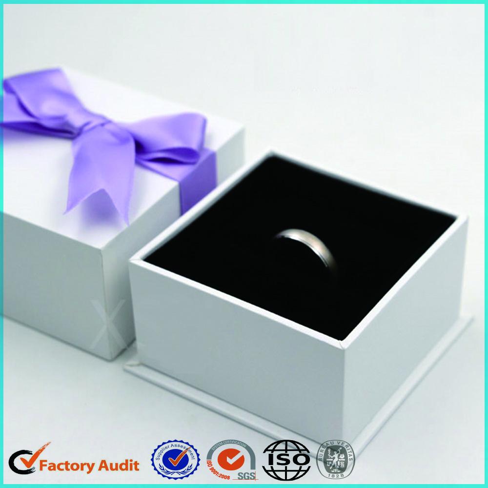 Custom Wedding Ring Jewelry Box