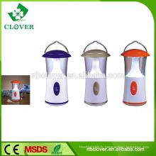 Matériau ABS 12 LED d'urgence petite lanterne de camping conduit éclairage de camping