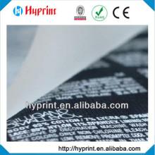 2015 high quality Customization Tagless Heat Transfer label