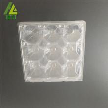 cartons d'oeufs en plastique transparent 9 pack
