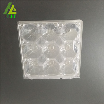 clear plastic 9 pack egg cartons