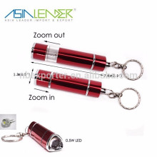 0.5W pop-up LED parpadeante luz llavero