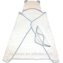 Serviette hypoallergénique pour les nouveau-nés nourrissons enfants en bas âge enfants garçons et filles, cadeau de douche de bébé serviette en bambou bébé à capuchon organique