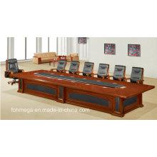 Luxury High End Mesa de conferencia de madera grande para 20 persona