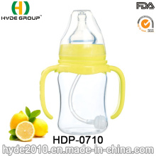 2016 Food Grade Glass Baby Feeding Bottle (HDP-0710)