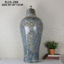 Большинство антикварные керамические ремесла декоративная ваза цветка для домашнего украшения