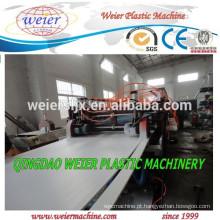 PLANTA de máquina extrusão de placa plástico PVC
