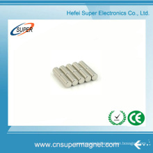 ISO9001 Certificated Sintered Neodymium Cylinder Magnet