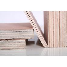Madera contrachapada sin procesar para muebles de buena calidad