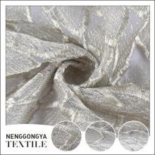 Hecho en tela bordada soluble en agua decorativa hecha punto del diseñador de China