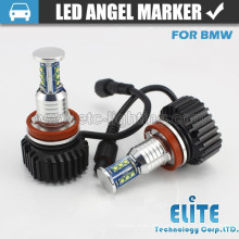 60W E92 Aluminium LED Marker Scheinwerfer Engel Augen mit Lüfter