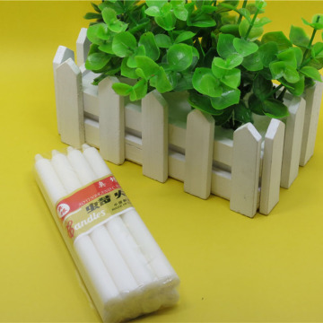 Angola 25g velas bougie house white stick κεριά