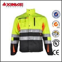 chaqueta de invierno caliente de aramida de ventas para los trabajadores del petróleo