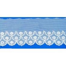 /Trimming cordón para ropa interior/lencería últimas Spandex cordón bordado recorte de encaje