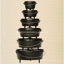 Preseasoned Cast Iron Dutch Oven Set Manufacturer From China.
