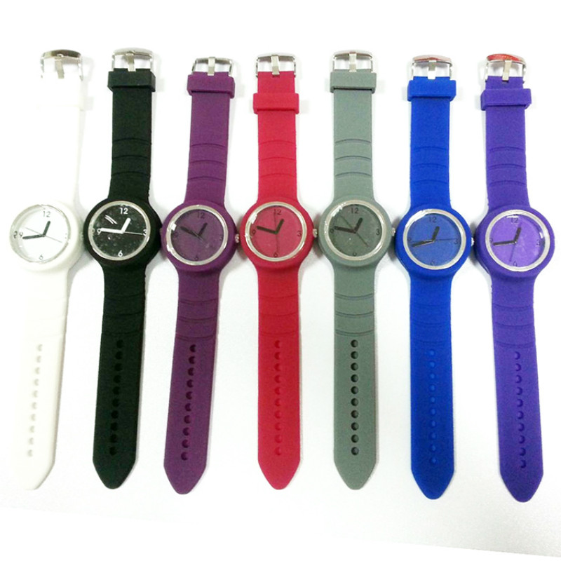 COLORFUL SILICONE JELLY WATCH