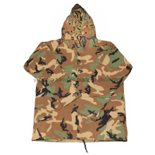 Military Woodland Camo Cold Wetter Parka