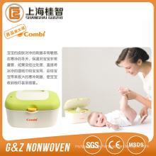Tela no tejida viscosa del 70% para el tejido mojado del bebé ningún añadido