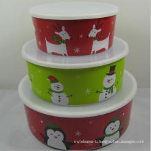 (BC-MB1006) High Quality Reusable Melamine Bowl Set