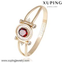 50831 brazaletes plateados oro de las mujeres del nuevo diseño de Xuping al por mayor