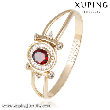 50831 Xuping new design wholesale gold plated women bangles