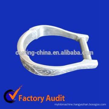 casting saddle iron, Harness fittings of iron