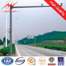 Poste de señal de tráfico de material de acero para seguridad vial